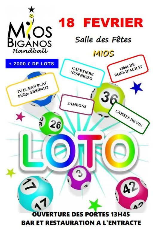 Grand Loto du Handball (Photos)